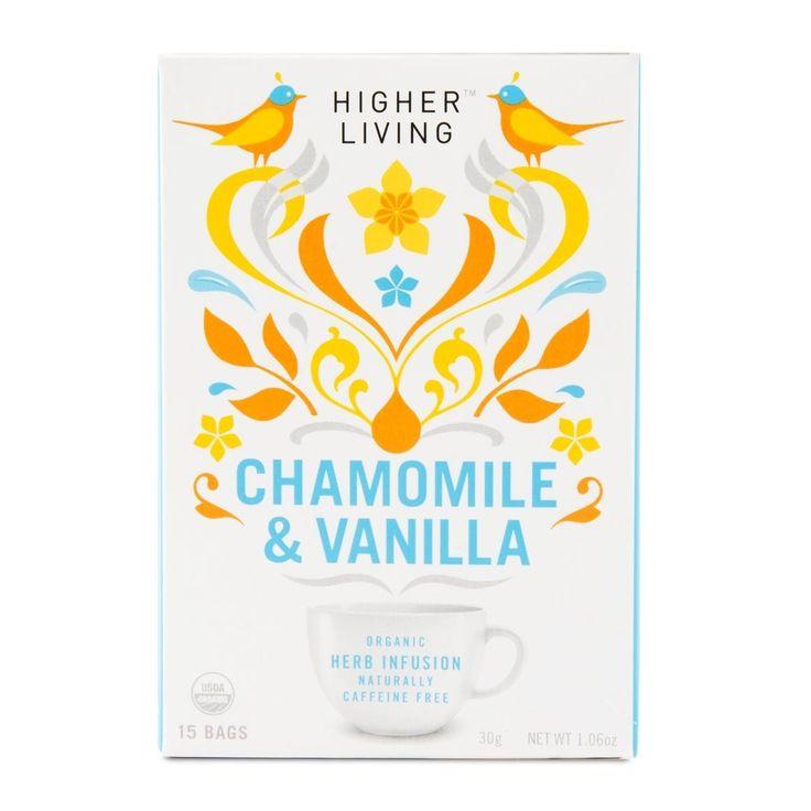 Higher Living Chamomile & Vanilla Organic Tea 15Pk