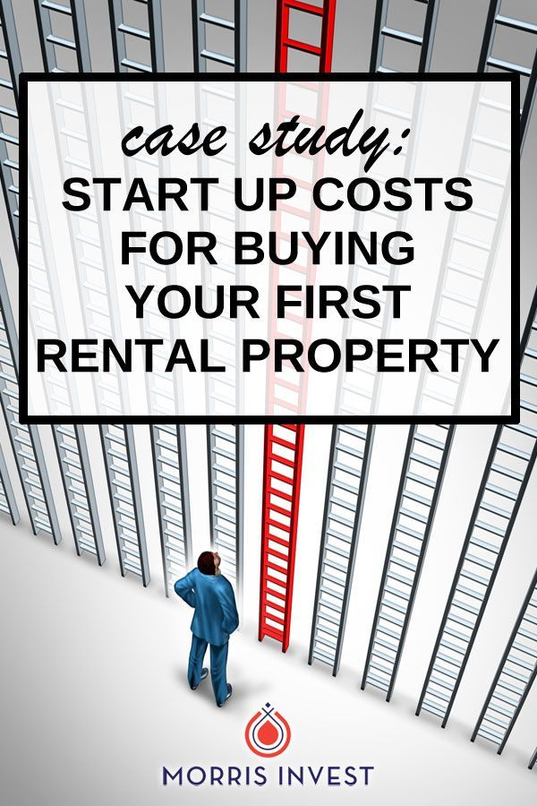 Case Study Five Start Up Costs That Are Associated With Real Estate Investing Real Estate Investing Rental Property Investing