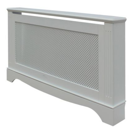 Large White Berkshire Radiator Cover: Image 1