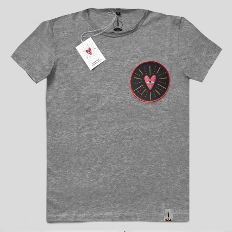 T-Shirt Ricamo - Cuore Collection