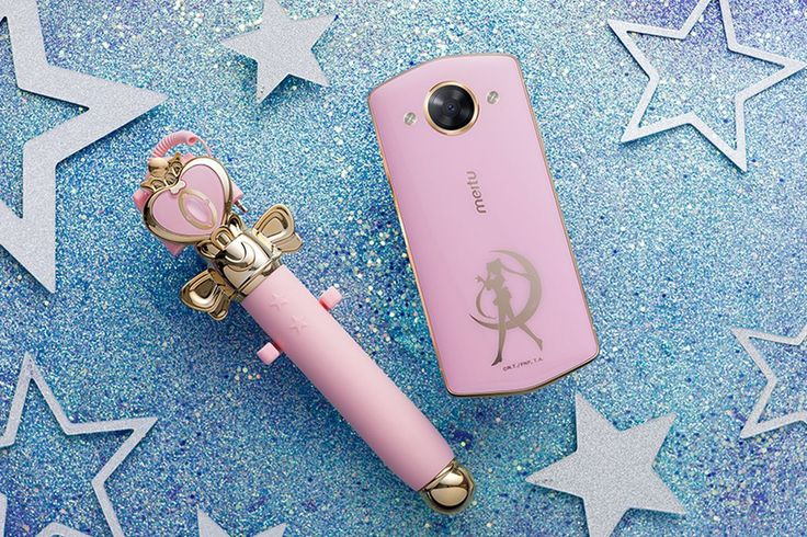 Meitu just released a Sailor Moon phone and selfie stick - The Verge