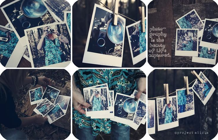 DIY: How to Fake Polaroids from Project Alicia. Easy to follow step by step instructions to make your own polaroids on the cheap without a polaroid camera.