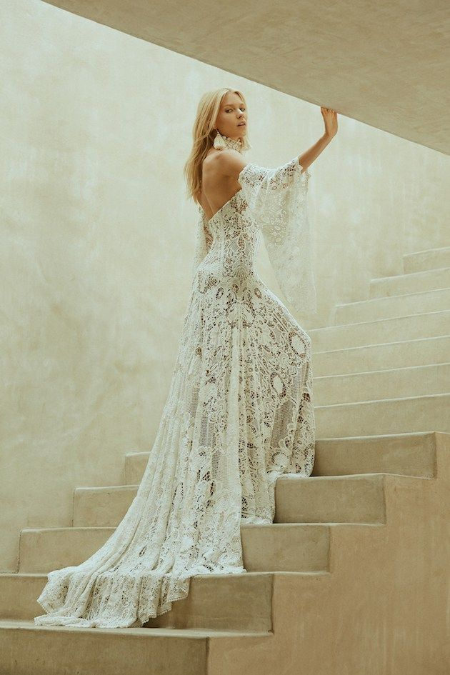 Love spells; Gorgeous Rue De Seine wedding dress collection