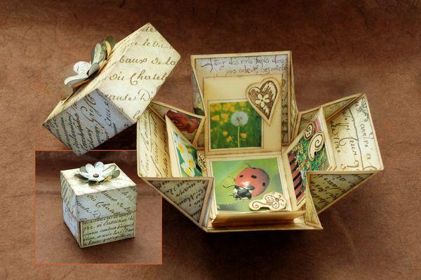Scrapbooking, giochi con la carta by Viola Luna Arwen Rigotti, via Behance