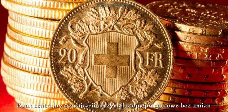 ☑️Bank centralny Szwajcarii utrzymał stopy procentowe bez zmian    ➡️Bank centralny Szwajcarii (SNB) utrzymał stopy procentowe bez zmian. Bank utrzymał stopę procentową na rekordowo niskim poziomie, minus 0,75 proc. - podał bank w komunikacie.    #aktualności #finanse #bank #banking #szybkofinhelp  #chwilówka #kredyt #warszawa #szczecin #poznań #kielce  #wrocław  #częstochowa #sosnowiec #gdańsk #kraków