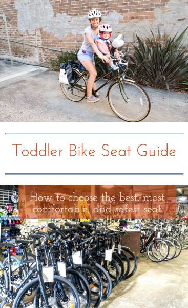 A checklist with everything you need to know before choosing a toddler bike seat