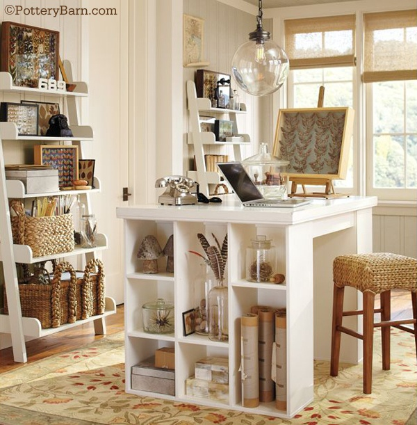 love, love, love this work space!