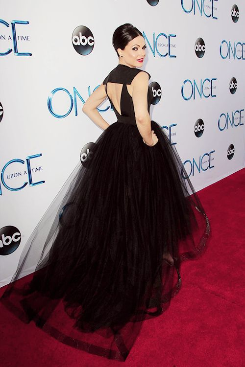 Lana Parrilla at Once Upon a Time season 4 premiere