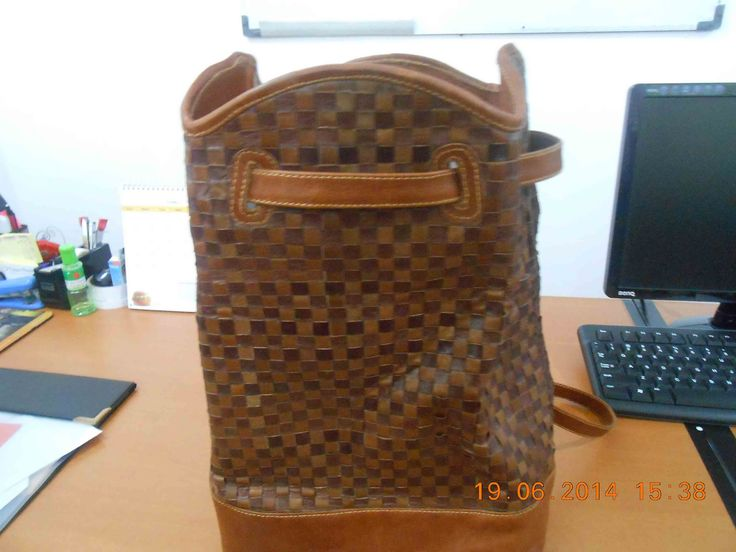 GAYAM BAG is a backpack made with matting technique that has high artistic value. GAYAM BAG it would be suitable to accompany your appearance at the Office, Mall, or campus.
