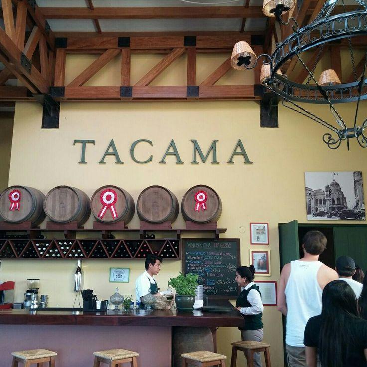 Tacama Hacienda. Ica. Pérou