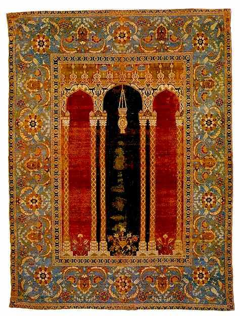 Bursa Prayer Rug (Turkish).