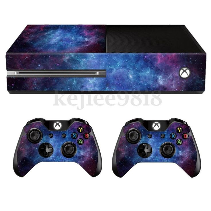 Nebula Skin Decal Sticker Cover Wrap For Microsoft Xbox One Console+2 Controller in Video Games & Consoles, Video Game Accessories, Faceplates, Decals & Stickers | eBay