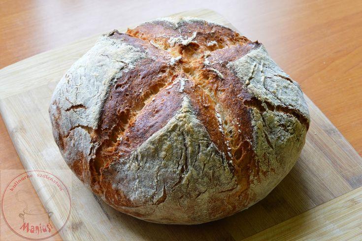 Chleb szwajcarski na drożdżach - Kulinarna Maniusia - blog kulinarny