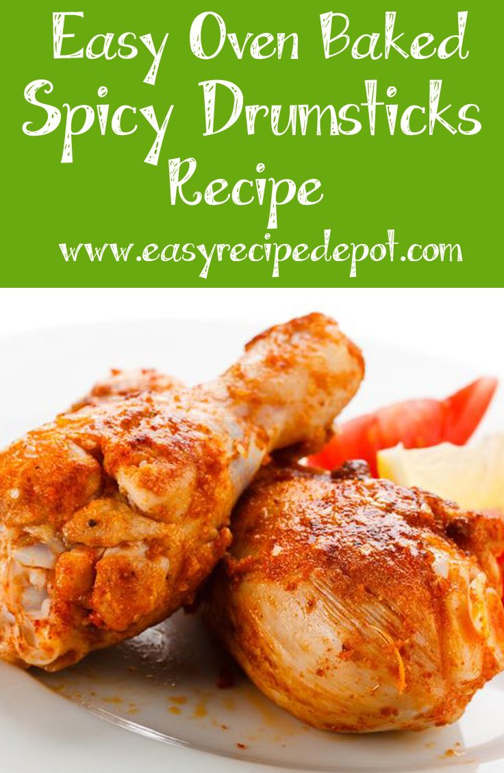 1000 images about chicken baked drumstick recipes on pinterest - Easy oven dinner ...
