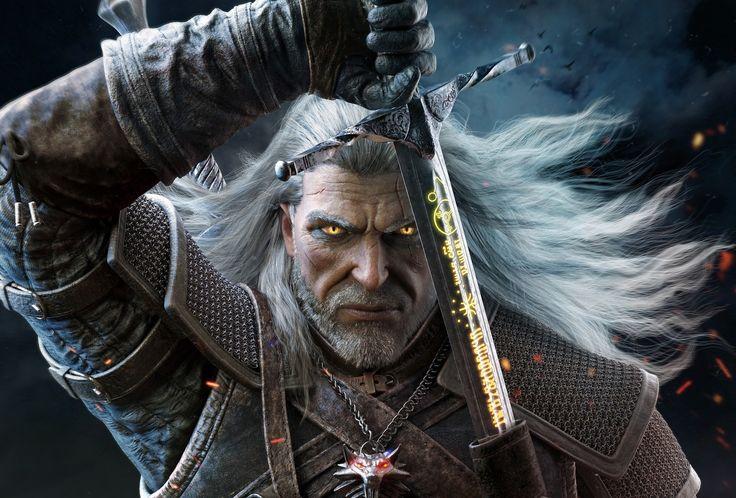 Vídeo Game The Witcher 3: Wild Hunt  Geralt Of Rivia Papel de Parede