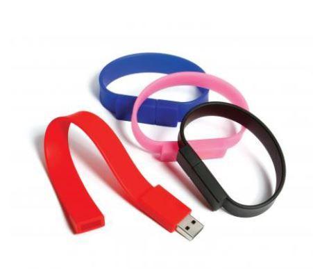 USB Armband is makkelijk in gebruik. De armband is al vanaf 100 stuks verkrijgbaar. Tevens is de armband te bedrukken met logo en of boodschap op de armband of de sluiting gedeelte. levertijd is ca. 2 weken