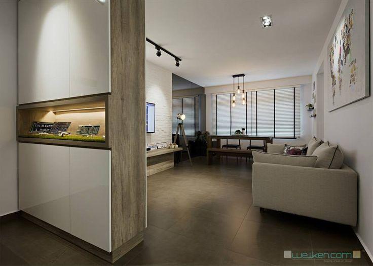 Hdb Modern Scandinavian Blk 169b Punggol Field Shoe Cabinet Pinterest Living Room