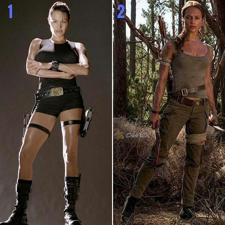 Sabemos que nadie tiene comparación con la gran #AngelinaJolie, pero ahora #AliciaVikander es la nueva #LaraCroft en #TombRaider. ¿Opiniones al respecto? (Nuestra favorita, la número 1) #Noticias #Cine #VideoJuegos #TombRaider.  Estreno en 2018 @wbpictureslatam. #Cine http://www.famousfollow.net/angelinajolie/post/1481327393691363544_2219421911/?code=BSOu2qJB2jY