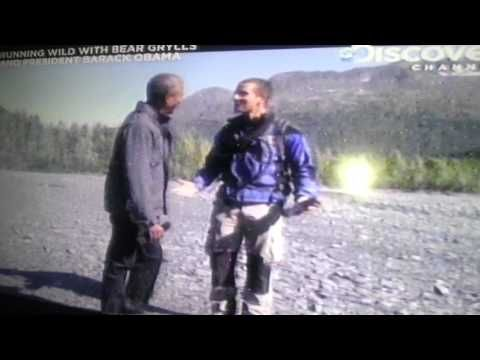 Runnning Wild Barack Obama with Bear Grylls Part 3