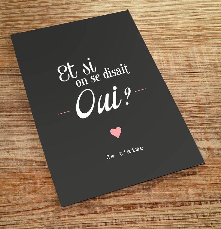 carte postale demande en mariage : Cartes par lillybabs                                                                                                                                                                                 Plus