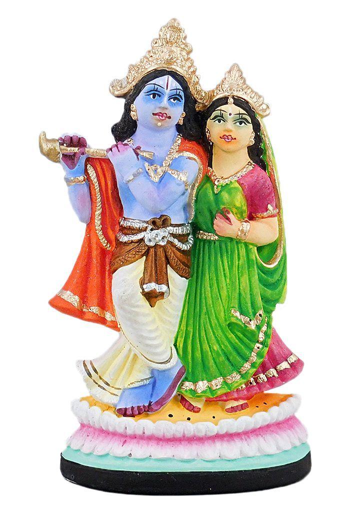 Radha Krishna (Plaster of Paris)