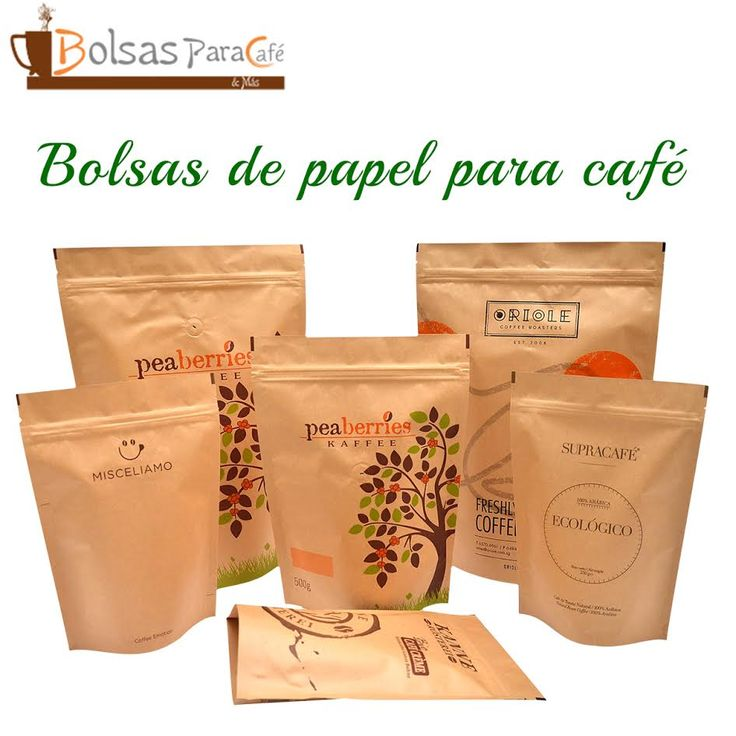 #BolsasDePapelParaCafé le recomendamos la utilización de nuestras bolsas de papel para café las cuales le darán un look incluso más orgánico llamando así la atención de los consumidores. Tamaños: Los tamaños disponibles son: 70 gr, 100 gr, 150 gr, 250 gr, 500 gr y 1000 gr. www.bolsasparacafe.com/bolsas-de-papel-para-cafe/