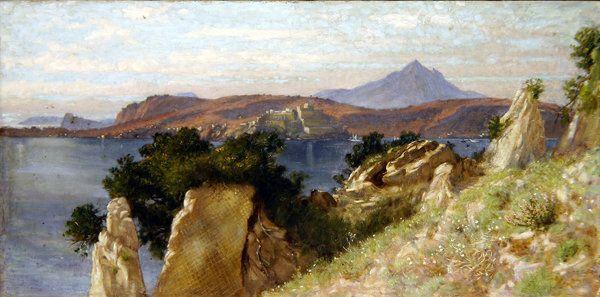 Cicero's Villa and the Bay of Bari, 1909 by Edith Ridley Corbet
