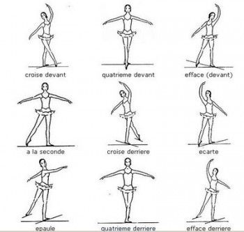 Passos básicos do Ballet Clássico