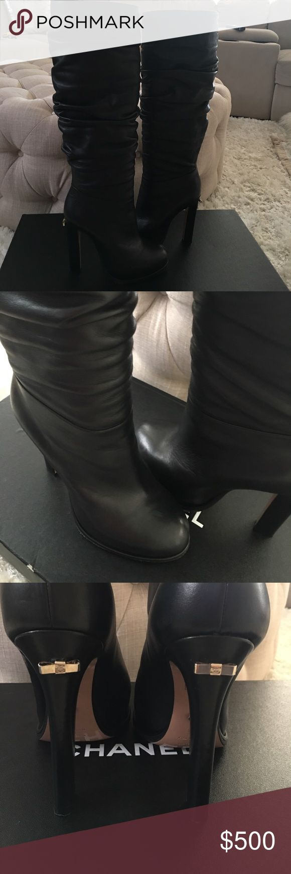 Authentic Victor&Rolf boots Authentic Victor&Rolf boots.sz 38.work a couple of times so in good condition with minimal signs of wear victor & rolf Shoes