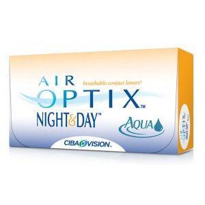 Lentile de contact lunare Ciba Vision Air Optix Night & Day Aqua 3 lentile / cutie - http://lensa.ro/lentile-de-contact/ciba-vision/air-optix-night-day-aqua-3