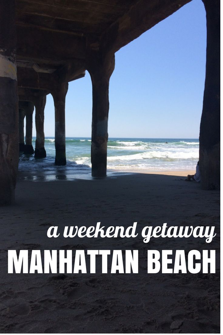 Manhattan Beach is one of the best destinations you can find only a $20 cab ride from a major airport. A great vacation spot for anyone one the west coast.