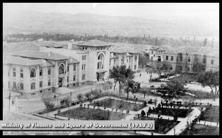 Ankara - Maliye Bakanlığı ve Hükumet Meydanı