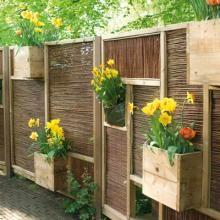 Buurjongens Panneaux, Panneaux de clôture en bois à compartiments pour bacs