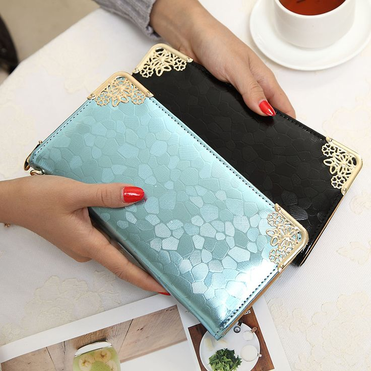 $7.88 (Buy here: https://alitems.com/g/1e8d114494ebda23ff8b16525dc3e8/?i=5&ulp=https%3A%2F%2Fwww.aliexpress.com%2Fitem%2F6-Colors-Fashion-Women-wallets-Long-purses-Elegant-Stone-Grain-Purse-Cool-Lady-European-Wallets-For%2F32695314581.html ) 6 Colors Fashion Women wallets Long purses Elegant Stone Grain Purse Cool Lady European Wallets For Girl's Student Bag A36 for just $7.88