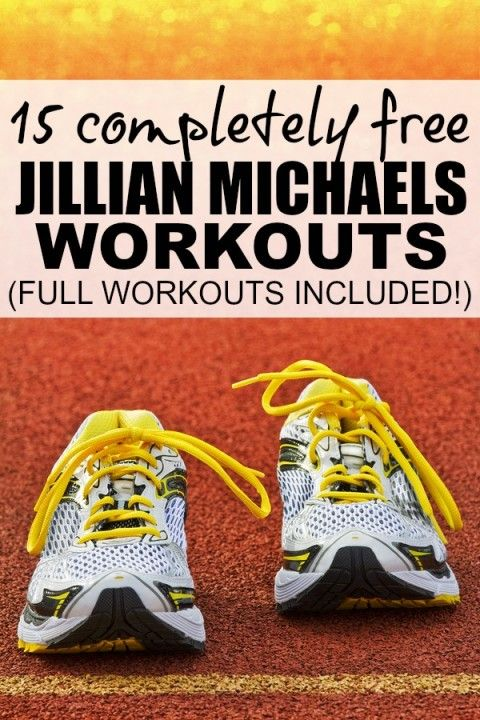 If you're trying to get back in shape, but don't have the time or money to invest in a gym membership, this collection of 15 Jillian Michaels at home workouts are just what you need to lose weight. And guess what? You can watch them all FOR FREE right here!
