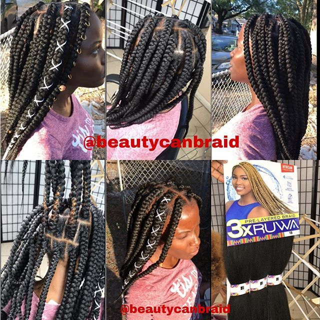 3 And Half Pack Of Pre Layered Braid 3x Ruwa From