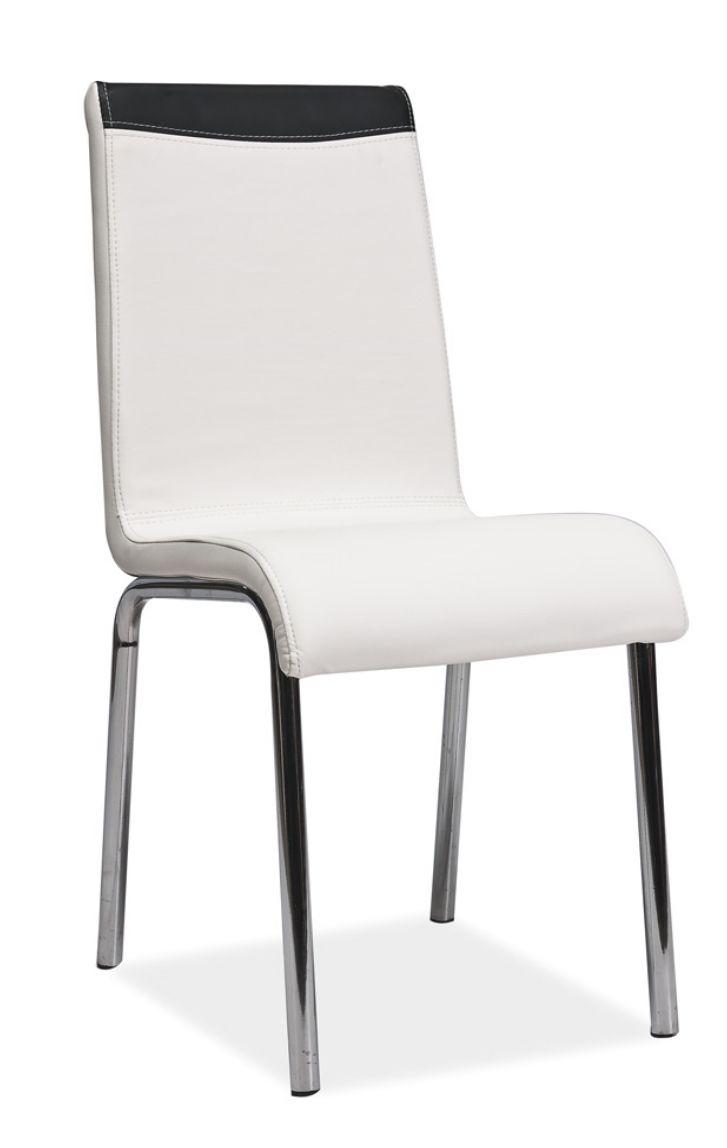 krzesło-krzesła-ekoskóra-białe krzesło-krzesło do jadalni, krzesło do salonu,