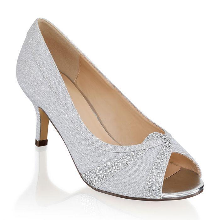 Gigi | Heels, Silver heels, Wide fit shoes