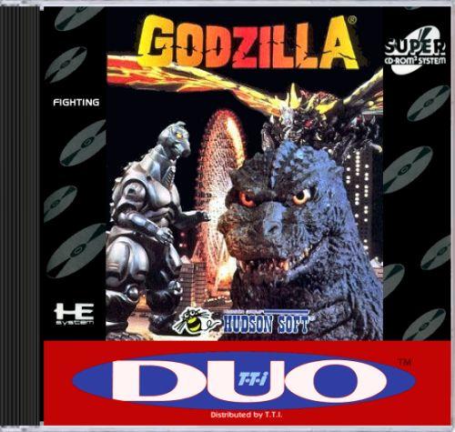 Godzilla 2 Imax Poster Textless: Godzilla: Battle Legends (Turbo Duo)