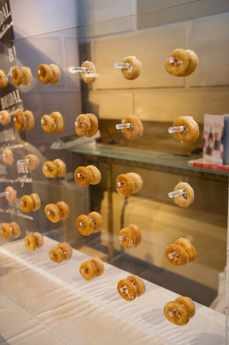 Mini donuts wall from Peter Callahan Catering
