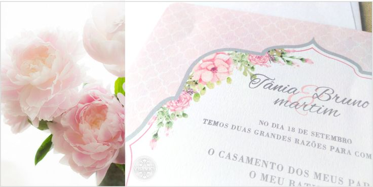 Convite de Casamento | Wedding invitation