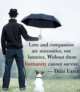 Quote about humanity by Dalai Lama