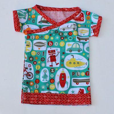 Free Sewing Pattern: Baby Kimono Top - Blooms And Bugs  http://www.bloglovin.com/frame?post=1554758889&group=0&frame_type=a&blog=2882423&link=aHR0cDovL2ZlZWRwcm94eS5nb29nbGUuY29tL35yL0Jsb29tc0FuZEJ1Z3MvfjMvbm8zSXgtZGZjcFUvZnJlZS1zZXdpbmctcGF0dGVybi1iYWJ5LWtpbW9uby10b3AuaHRtbA&frame=1&click=0&user=0