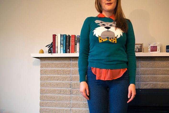 Cutest sweater ever!