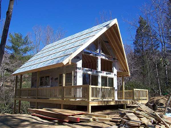 1000 images about cabin life on pinterest cottages for Small vacation home plans with loft