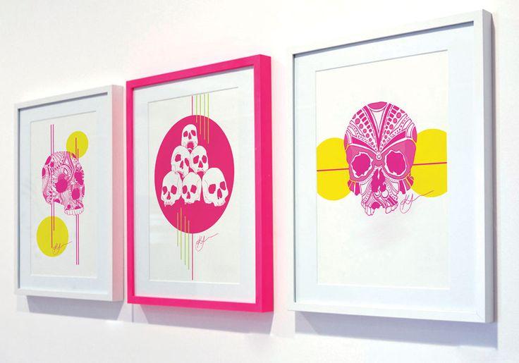 Kate Hursthouse ı Skulls Illustration series