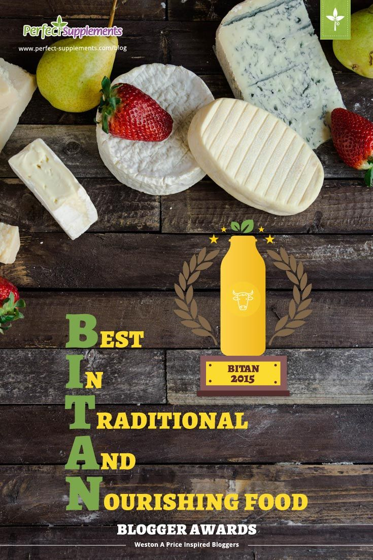 The 35 Best Weston A. Price Inspired Traditional Food Bloggers for 2015 | Perfect Supplements // http://www.perfect-supplements.com/