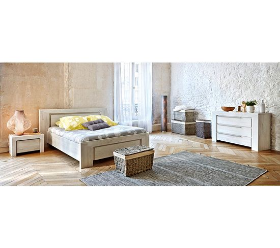 les 25 meilleures id es de la cat gorie lit 160x200 sur. Black Bedroom Furniture Sets. Home Design Ideas