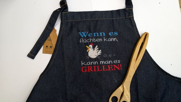 Barbecue Apron For Season Embroidered Men Birthday Gift With Name Cooking Retirement Chef Colleague