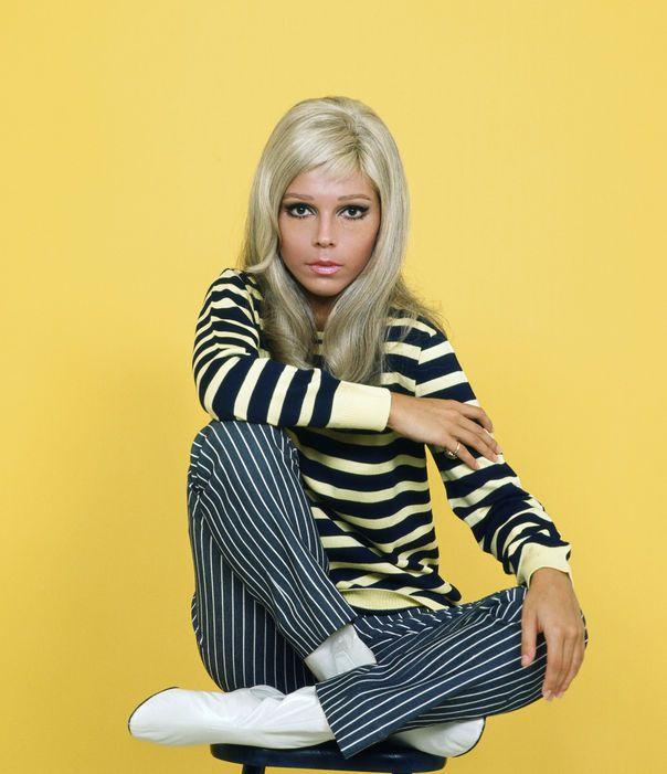 Nancy Sinatra in 1960s beatnik fashions | Nancy Sinatra life in ...